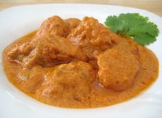 Yummy butter chicken served at An Indian Affair Restaurant Langley, the best Indian food restaurant in British Columbia