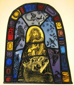 by Tamsin Abbott - Stained Glass Illustrator