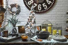 El estilo industrial en la Navidad. The industrial style Christmas