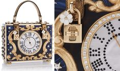 Exclusive+Luxury:+Dolce+&+Gabbana+Enchanted+Clock+Box+Bag