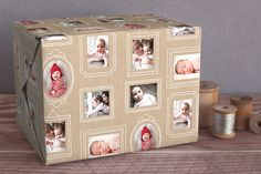 LOVE :: Krafted Frames Personalized Wrapping Paper