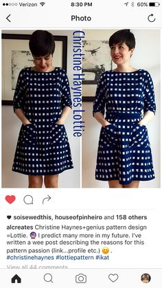 Christine Haynes Lottie Dress Inspiration