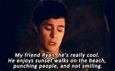 Seth Cohen making awkwardness charming since 03'