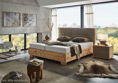 Das Boxspringbett Pure Pine aus österreichischem Zirbenholz holt den Duft der Alpen in das eigene Zuhause und schafft eine angenehme Schlafatmosphäre.