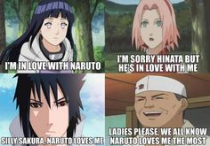 So.. Who Is Naruto's True Love, and apparently sasuke is a woman now XD