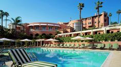 The Beverly Hills Hotel, Dorchester Collection en Los Ángeles, Hoteles de Lujo - http://pinterest.com/splendia/