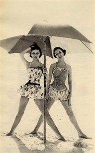 This makes me think of my great Aunts and their trips in the 30s to Atlantic   City...