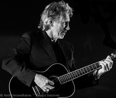 Roger Waters and his guitar