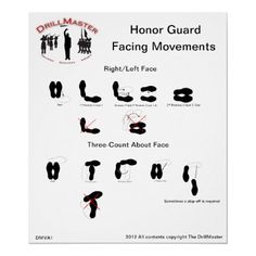 http://www.zazzle.com/dmva1_honor_guard_facing_movements_poster-228017755174889023