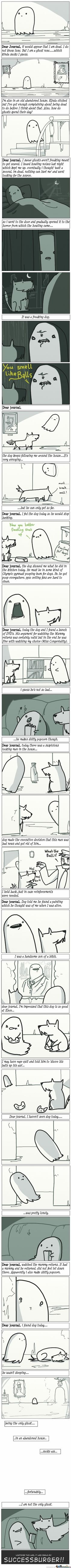 Ghost Story  // funny pictures - funny photos - funny images - funny pics - funny quotes - #lol #humor #funnypictures
