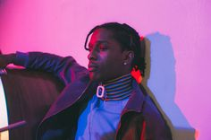 """hungertv: """" A$AP Rocky collabs with J.W anderson http://www.hungertv.com/feature/aap-rocky-collabs-with-j-w-anderson/ """""""