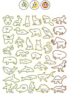 Rubble Road Soapstone Carving Kit Shapes List                              …