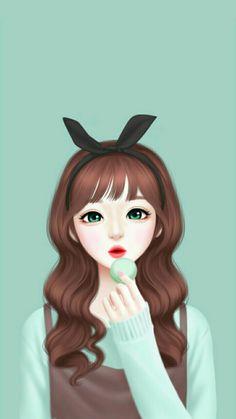 Enakei y anime art girl, manga girl, pretty anime girl, anime girls, Pretty Anime Girl, Beautiful Anime Girl, Anime Art Girl, Manga Girl, Anime Girls, Cute Cartoon Girl, Cartoon Art, Anime Korea, Lovely Girl Image