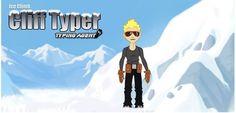 Cliff Typer (Original Game)