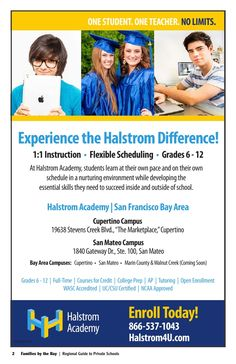 Halstrom Academy School in the San Francisco Bay Area. Private ...