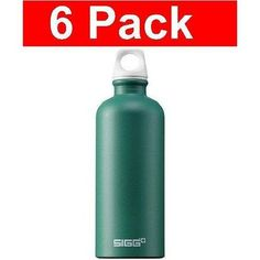 Sigg Water Bottle Elements Earth 0.6 Liter (6 Pack)