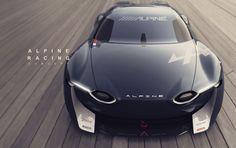 Alpine Racing Concept on Behance