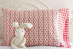 A quick and easy way to sew a pillowcase