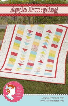 Looking for your next project? You're going to love Apple Dumpling Quilt Pattern by designer Its Sew Emma.