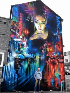 Dan Kitchener, art work. stereet art