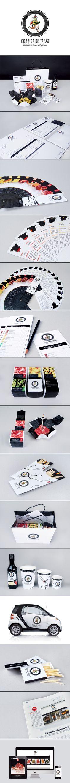 Corrida de Tapas, espectacular #diseño  Time for lunch #identity #packaging #branding PD