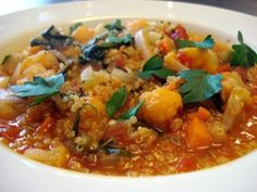 Vegetable and Quinoa Stew