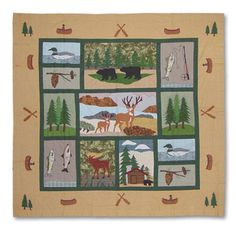 Lodge Fever Shower Curtain