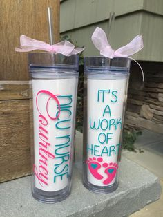 NICU nurse gift nurse present personalized by TweetHeartDecor