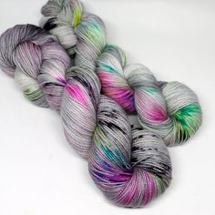 Hey, I found this really awesome Etsy listing at https://www.etsy.com/listing/450093572/hand-dyed-speckled-sock-yarn-sw-sock