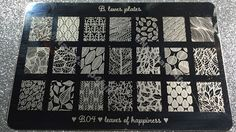 Nail Stamp 4 Fun: B. Loves Plates Review: New Stamping Plate, Nail stamping Polishes and Stampers