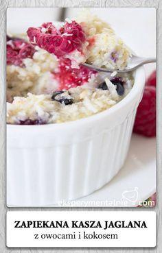 Millet Breakfast Recipe - gluten free kasza jaglana przepisy na śniadanie czyli jaglanka