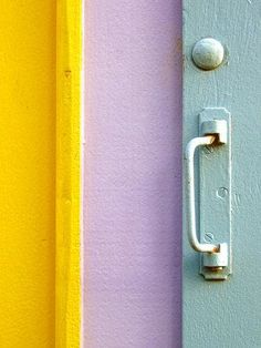 Color Chips: Yellow and Lavender