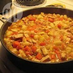 Vegetarisches Tajine mit Aprikosen und Koriander @ de.allrecipes.com