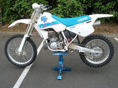 1988 Yamaha WR500- The YZ490 repackaged and reoffered.