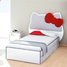 Hello Kitty Bed for my future little girl, because my future daughter is going to love hello kitty just like her momma