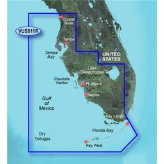 New Garmin BlueChart Vision HD - - Southwest Florida - micr Florida Bay, Key Largo Florida, Dry Tortugas, Gps Tracking, Gps Navigation, Navigation Charts, Sd Card, Key West, Digital