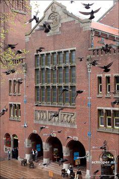 beursplein beurs van berlage Amsterdam the Netherlands