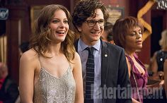 Among all of your new year's resolutions in 2016, Judd Apatow really just wants you to Love.  The writer-director-producer is returning to television with a 10-episode comedy series premiering on Netflix on the Valentine's Day-adjacent date of February 19. EW has a first look at the bingeworthy rom-com, which stars Paul Rust (who also co-created the show) and Gillian Jacobs (Community) as two polar ends of the same amorous magnet.