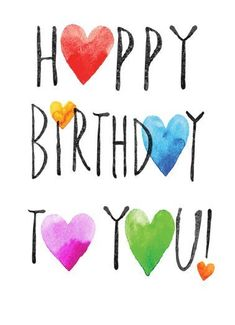 Happy Birthday Hearts - Happy Birthday Funny - Funny Birthday meme - - Funny Cards and Ecards to personalize and send! Free Postage when Cardfool mails it to your recipient for you! The post Happy Birthday Hearts appeared first on Gag Dad. Happy Birthday Hearts, Happy Birthday Messages, Birthday Cards, Happy Birthday Wishes For A Friend, Happy Birthday Letters, Happy Birthday Typography, Humor Birthday, Funny Happy Birthday Quotes, Funny Birthday Wishes