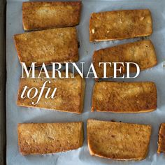 These delicious and hearty tofu steaks are amazing on their own or incorporated into a larger meal.