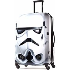 American Tourister Disney Star Wars Storm Trooper 28 inch Spinner Hard Side Suitcase, White