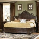 Found it at Wayfair - Grand European Panel Bed in Distressed Cherry $1,350.00
