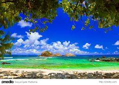 İnziva köşesi Cousine Adası #seyahat #tatil