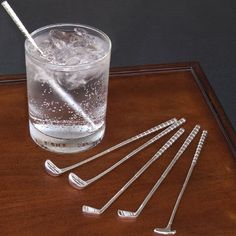 Golf Club Cocktail Stir Sticks, Golf Club Shaped Swizzle, Golfers Drinking Gift * Read more details by clicking on the image. Golf Gifts For Men, Mens Golf, Golf Gadgets, Golf Apps, Golf Theme, Golf Party, Sports Party, Golf Drivers, Golf Exercises