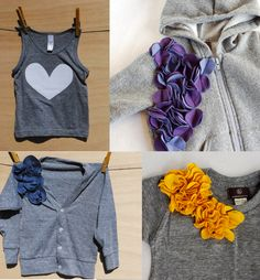 American Apparel Self Embellished All goods are made from American Apparel or Alternative Apparel goods with handmade, modern and fun details, that create some pretty dang adorable kids clothes