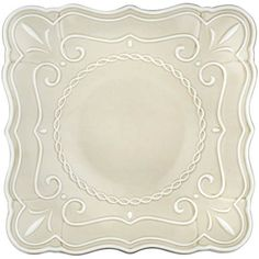 Lenox Butler's Pantry Patisserie Square Accent Plate - these would be great for a different accent or for a ladies tea!