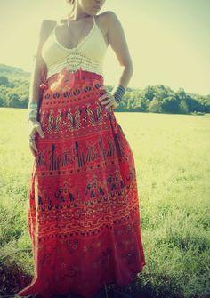 Wrap skirts
