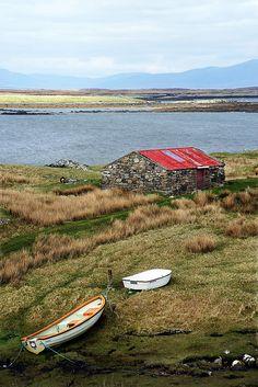 Near Lochmaddy, North Uist, Hebrides, Scotland