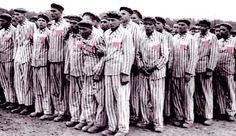 alle joodse mensen kregen gestreepte kleren toen ze gevangen zijn genomen