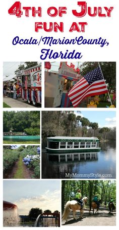 Celebrate the 4th of July at Ocala/Marion County Florida! So many fun things to do with your family to celebrate our Nation's holiday! Stay for an overnighter or stay all week. My mom would love this place as it is a horse lover's dream! #ad #OcalaMarion